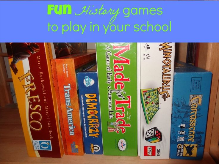 Fun history games to play in your school or home for every period of history  #history #homeschool #familygamenight