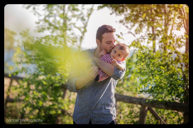 #baby #father #babyphotoshooting #park #sunnyday #son