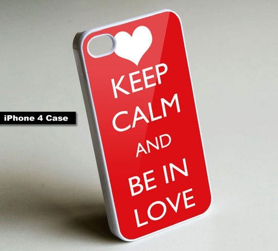 Keep Calm and Be In Love - iPhone