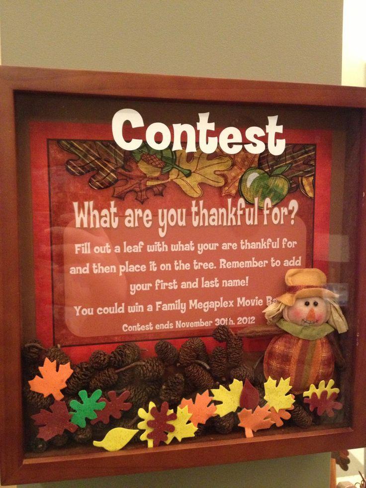 https://www.facebook.com/watsonortho  Thanksgiving Tree Lobby Contest