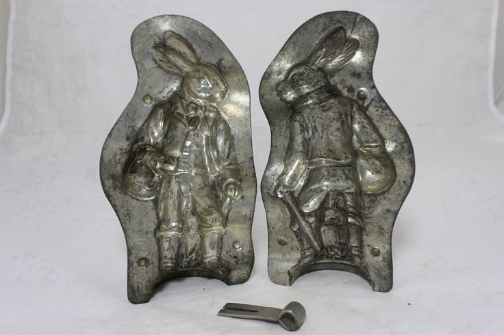 "Rare ""Anton Reiche"" Bavarian Rabbit Chocolate Mold from thecuriousamerican on Ruby Lane"