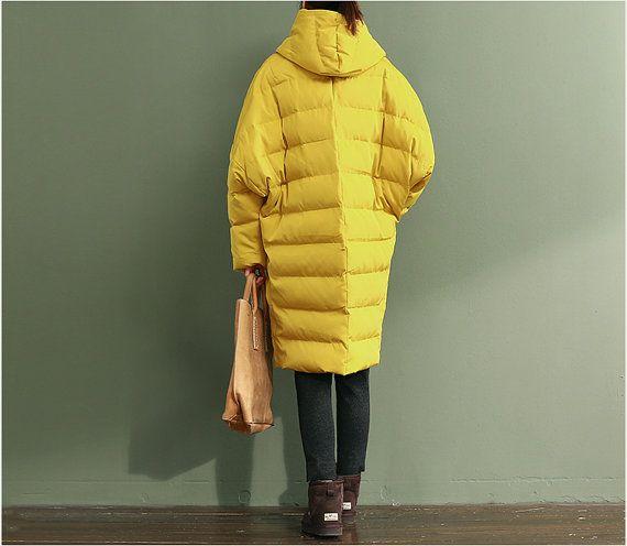 Parka in cappotto con cappuccio giacca di cotone imbottito