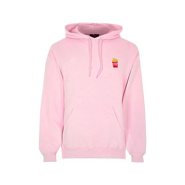good life french fries pink hoodie