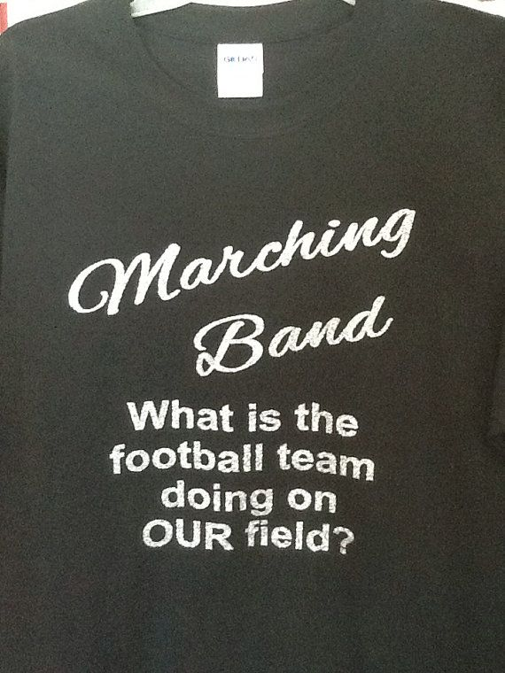 Custom Marching band glitter fitted tshirt by JustStuffOhio, $20.00