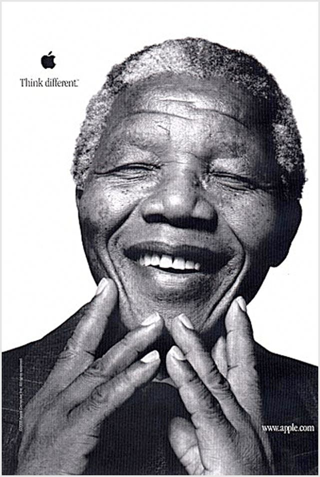 Nelson Mandela Think Different