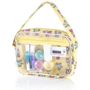 Pure Poppet - Makeup Bag Yellow for Layla #entropywishlist #pintowin