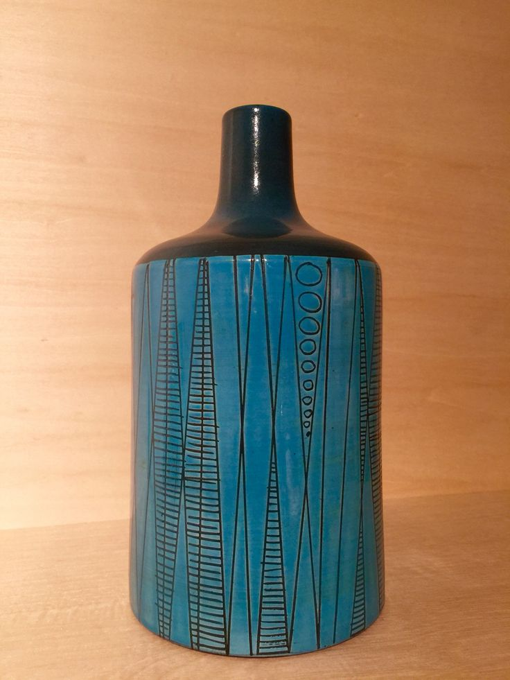 Ingrid Atterberg; Glazed Ceramic Vase for Uppsala Ekeby, 1950s.