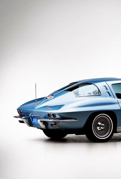 1963 Corvette.  What beautiful lines on the classic Corvette. Reasons why men fell in love with women.