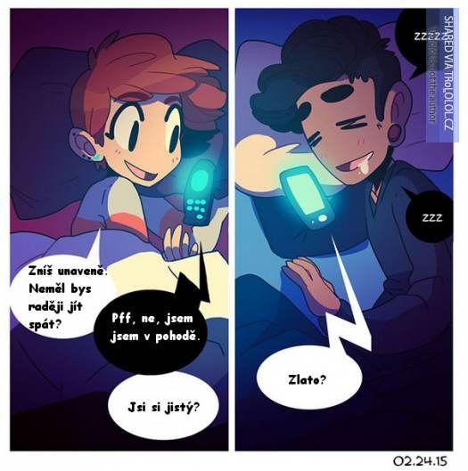 Ilustrace, které dokonale vystihují vztah na dálku - 10