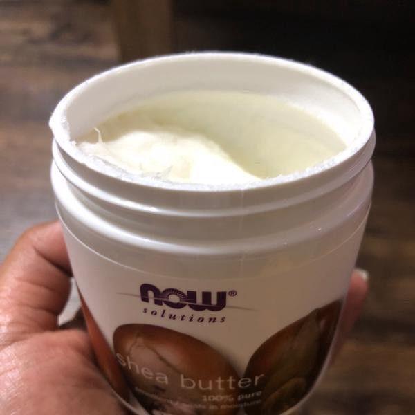 زبدة الشيا العضوية من اي هيرب Shea Butter Coconut Oil Jar Food