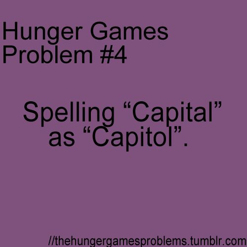 Hunger Games Problems - Page 10 of 10