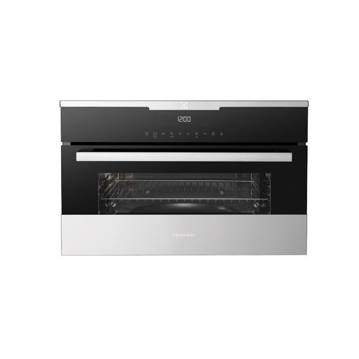 Electrolux 38cm compact microwave, grill & fan-forced oven (model EVEM677BA) for sale at L & M Gold Star (2584 Gold Coast Highway, Mermaid Beach, QLD). Don't see the Electrolux product that you want on this board? No worries, we can order it in for you!