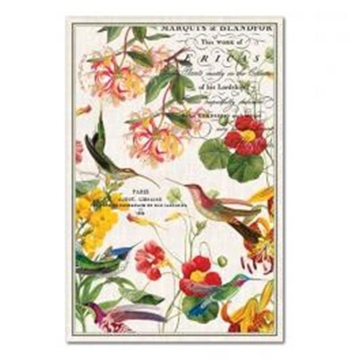 Awesome Michel Design Works Flora Exotica Cotton Kitchen Towel Part 23