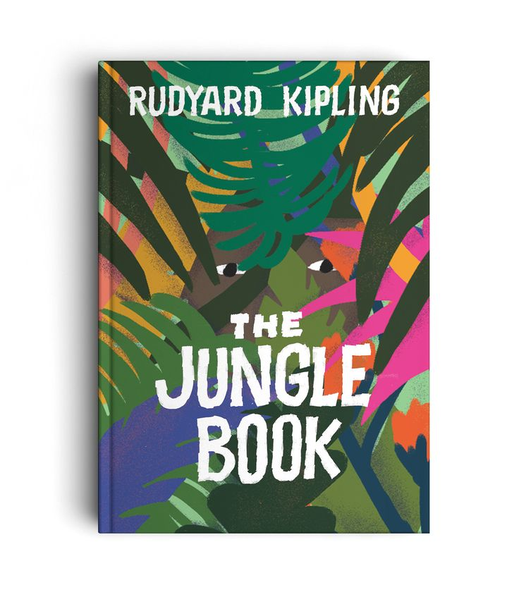 THE JUNGLE BOOK - LETTERING - Art direction : Lucia Calfapietra and Nicolò Giacomin - Illustration : Lucia Calfapietra @lucerosa