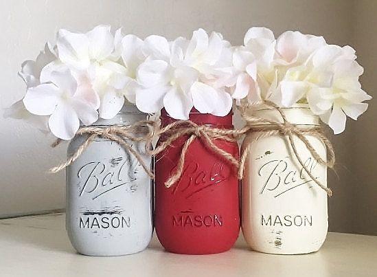 best 25+ decorating mason jars ideas on pinterest   painting mason