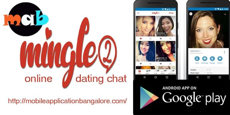 Mingle2 is the easiest and free way for meeting and dating millions of people. Free dating site app to meet local singles click here http://mobileapplicationbangalore.com/mingle2-online-dating-chat-dating-mobile-app/
