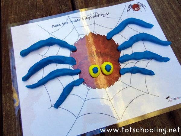 Fall Playdough Mats & Other Fall Activities (Love to Learn Linky #8) | Totschooling - Toddler and Preschool Educational Printable Activities