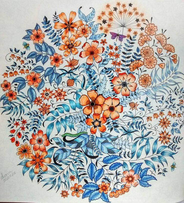25 best ideas about secret garden colouring on pinterest Amazon coloring books for adults secret garden