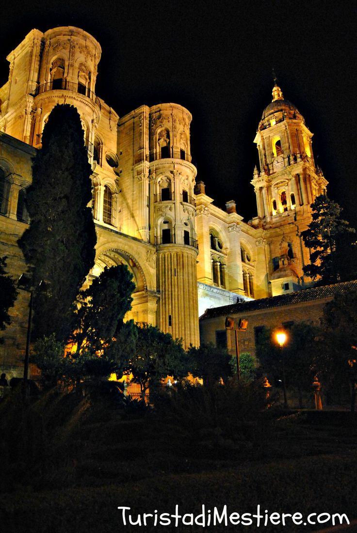 Malaga, cattedrale (Spagna). http://www.turistadimestiere.com/2013/09/diario-di-viaggio-malaga.html