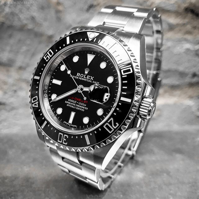 The 50th Anniversary Rolex Sea Dweller With Red Letters Tag Somenoe