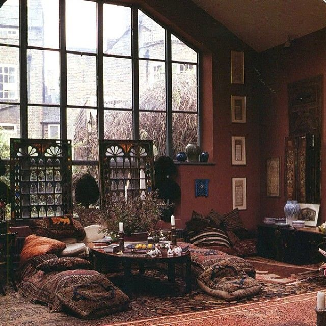 70 39 s bohemian new york loft bohemian interiors for Interior design 70s style