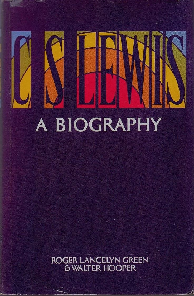 CS Lewis - A Biography - 15 Book Covers With Unique Typography From The 1970's | Robot Eats Popcorn | Graphic Design #70s #1970s #bookcovers #typography #type #70sdesign