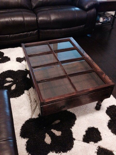 Best Repurposed And Recycled Images On Pinterest Pallet Wood - Window coffee table for sale