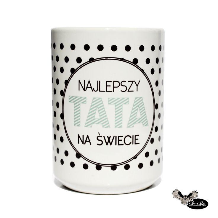 Najlepszy Tata na świecie, kubek ceramiczny 450ml