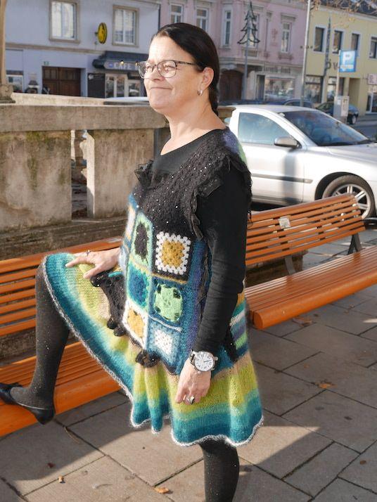 #granny kleid | #häkeln | #crochet by Gabi Endfellner