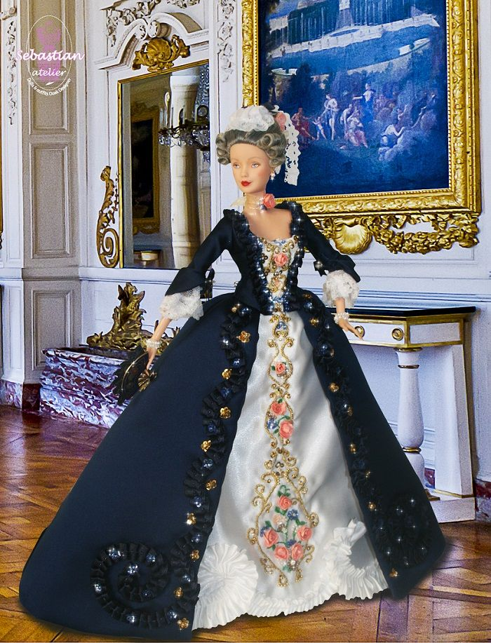 639 best images about poupee doll historic on pinterest - Chateau de barbie ...