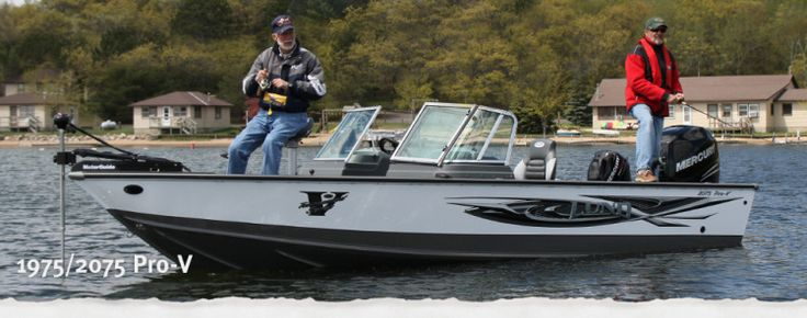 lund boats | New Boats › Lund Boats › Multi-Species Fishing Boat › 2075 Pro-V ...
