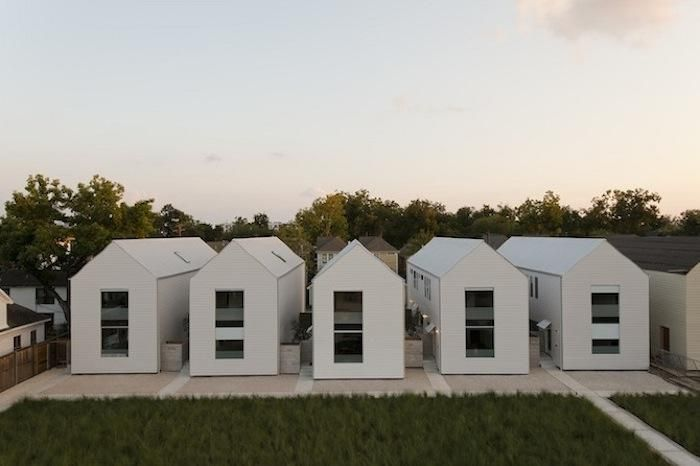 A new take on the rowhouse. Row on 25th in Houston, Texas by Shade House, Remodelista