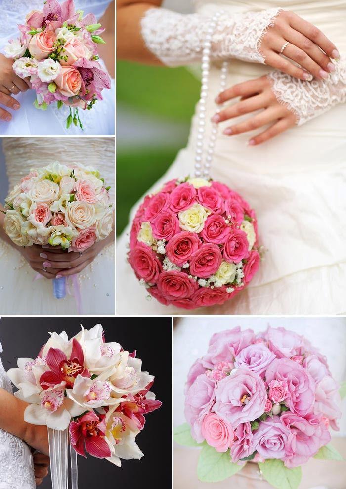 prinzessinnen brautstrau in rosa oder pink wedding. Black Bedroom Furniture Sets. Home Design Ideas