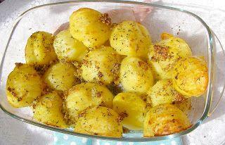 W Mojej Kuchni Lubię.. : aromatyczne i pyszne ziemniaki z piekarnika...