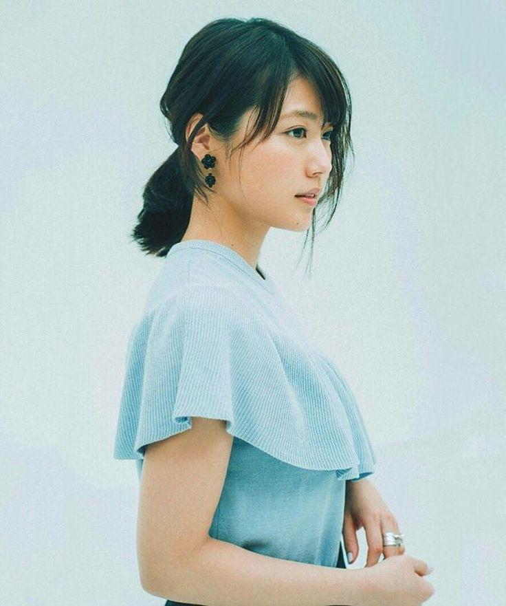 """Ma-Kun on Instagram: """" 透明感って言葉は架純さんのために作られた言葉なのかも… #有村架純 #mina #2017年4月"""""""