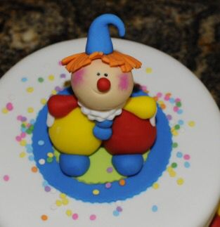 This clown - easy to make, see bookmarks
