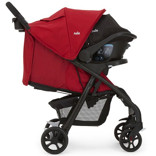 Joie Muze Travel System in Cherry