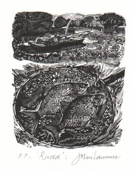 "Words on Woodcuts: ""Rudd"" by John Lawrence"