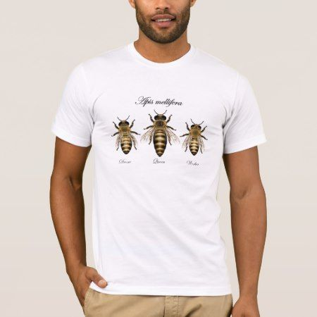 Honey bee Apis mellifera T-Shirt - tap, personalize, buy right now!