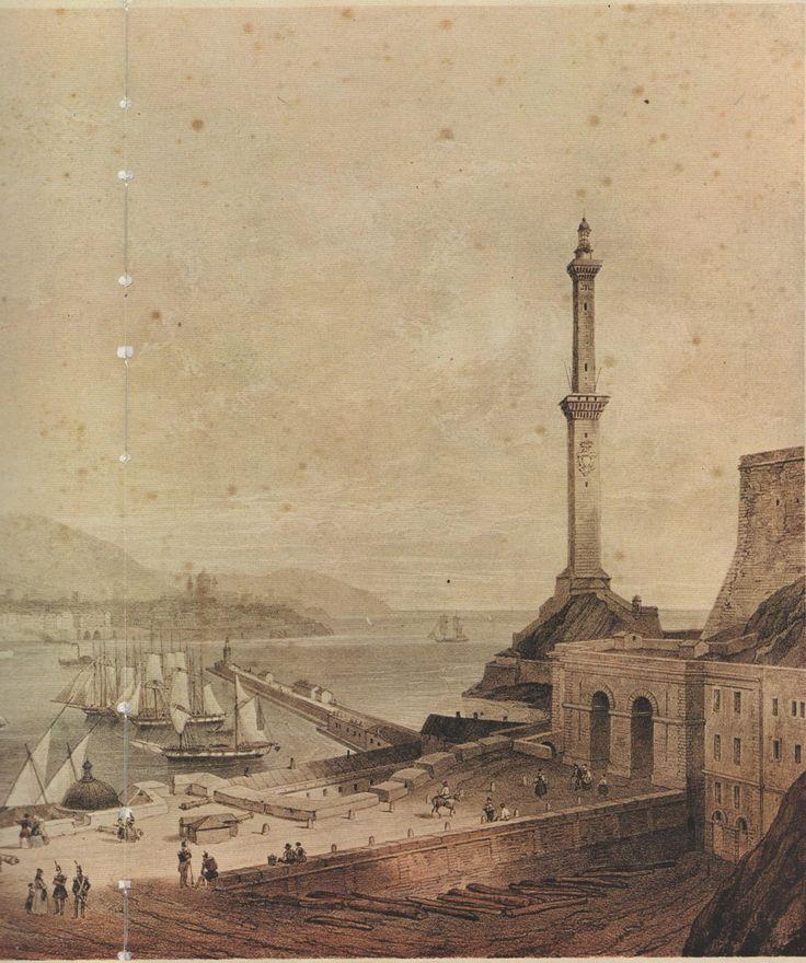 C'ERA UNA VOLTA GENOVA : Genova : Il Porto dal 1800 al 1850