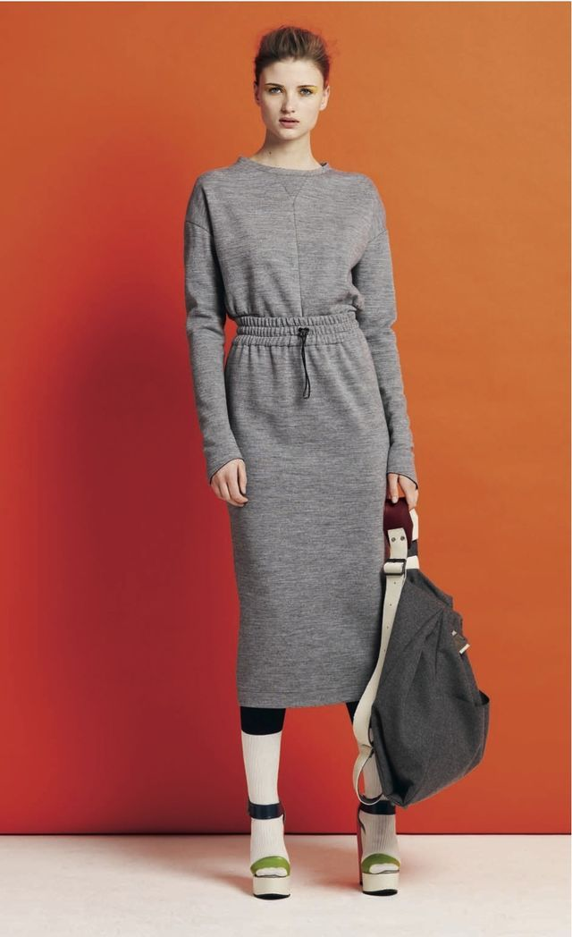 sweat-dress--style bubble