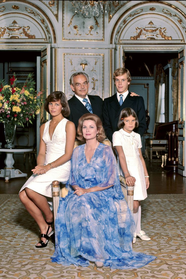 Princess Grace Princer Rainier and Family | Princess Grace ...