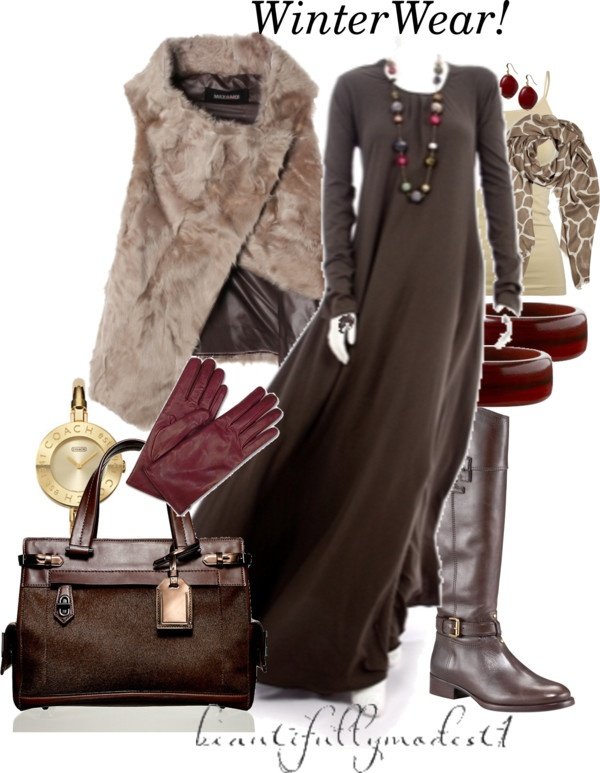 """Winter 2012!"" by beautifullymodest1 ❤ liked on Polyvore"