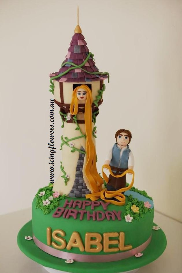 69 Best Images About Princess RapunzelTangled Theme Cookies Cakes Ideas On Pinterest