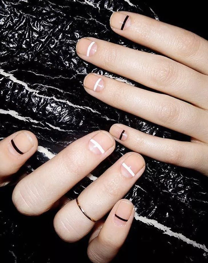 The 10 Best Nail Art Ideas We Tried This Year #blinkbeauty #nailart #nailtrends …