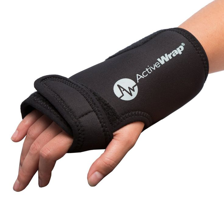 Hand and Wrist Heat/Cold Therapy Wrap — Reduces Wrist Pain and Swelling. Ideal For Both Left and Right Hand Use. Allows Mobility While Icing and Heating Compression Is Applied. BAWH007 By ActiveWrap ** Check this awesome image  : Wrapping Ideas
