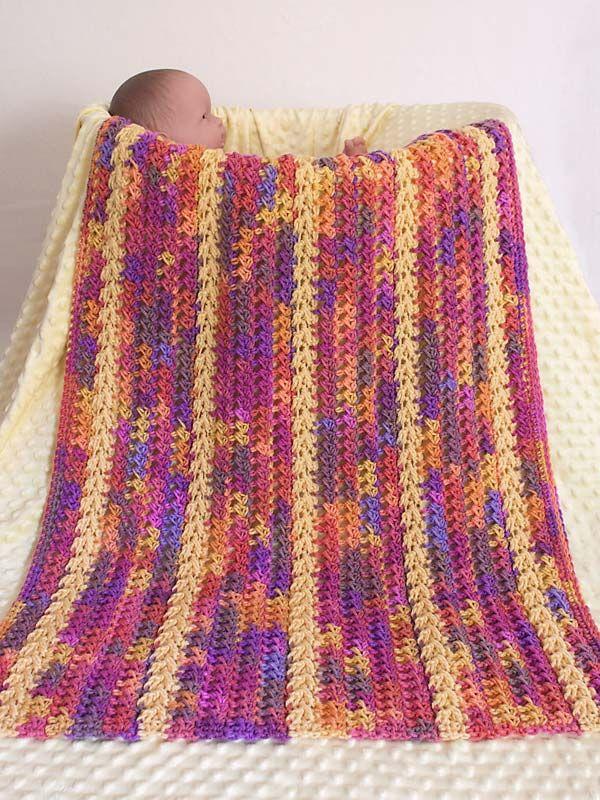 AIRBORNE ARROWS Baby Blanket Free crochet afghan ...