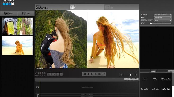 Go Pro Studio Effect - Putting 2 Videos SIDE BY SIDE / Split clip ! FAST...