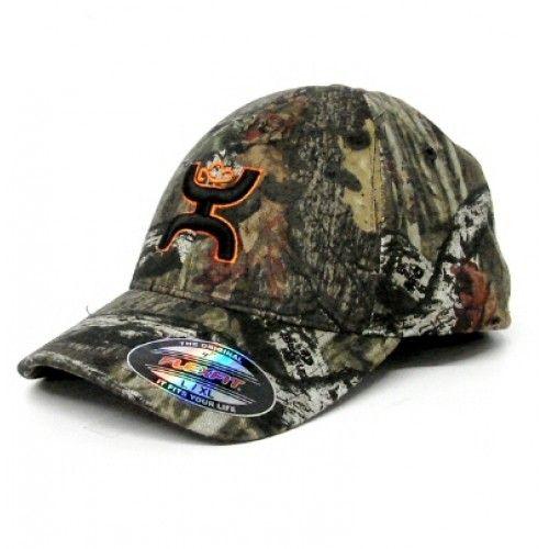 Hooey Cap Buckshot Mossy Oak Camo Flex Fit Cap Cowboy Cap