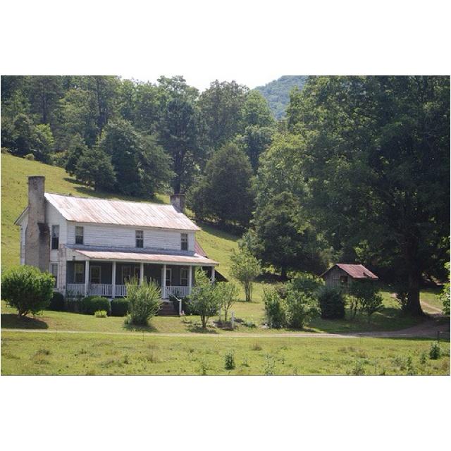 Farmhouse In Western North Carolina.